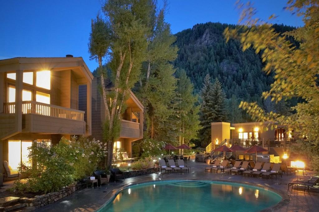 Skiing lodge in Aspen
