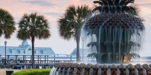 Pineapple Shaped Fountain