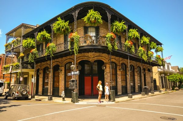 New Orleans Charming Building