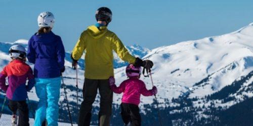 skiing in whistler