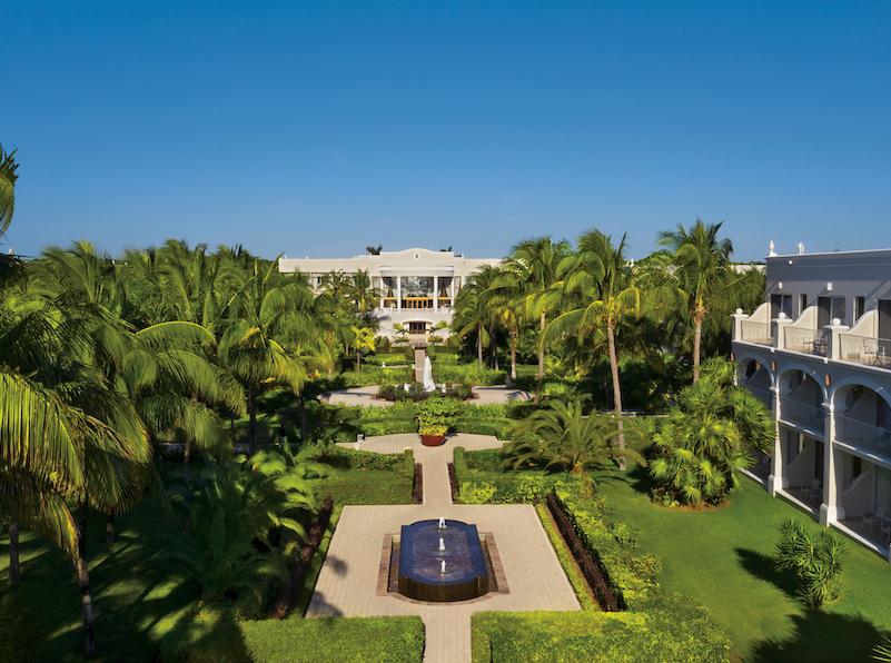 Tulum Resort Courtyard