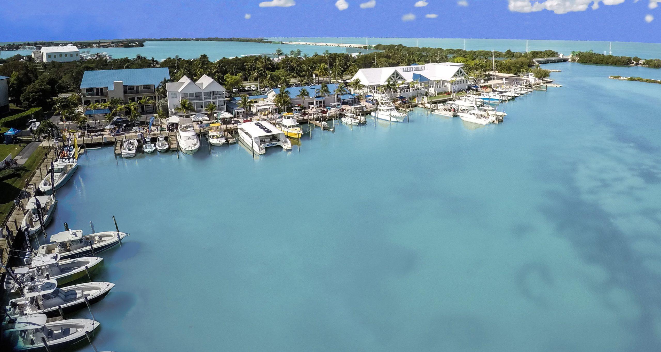 Ariel View Hawks Cay